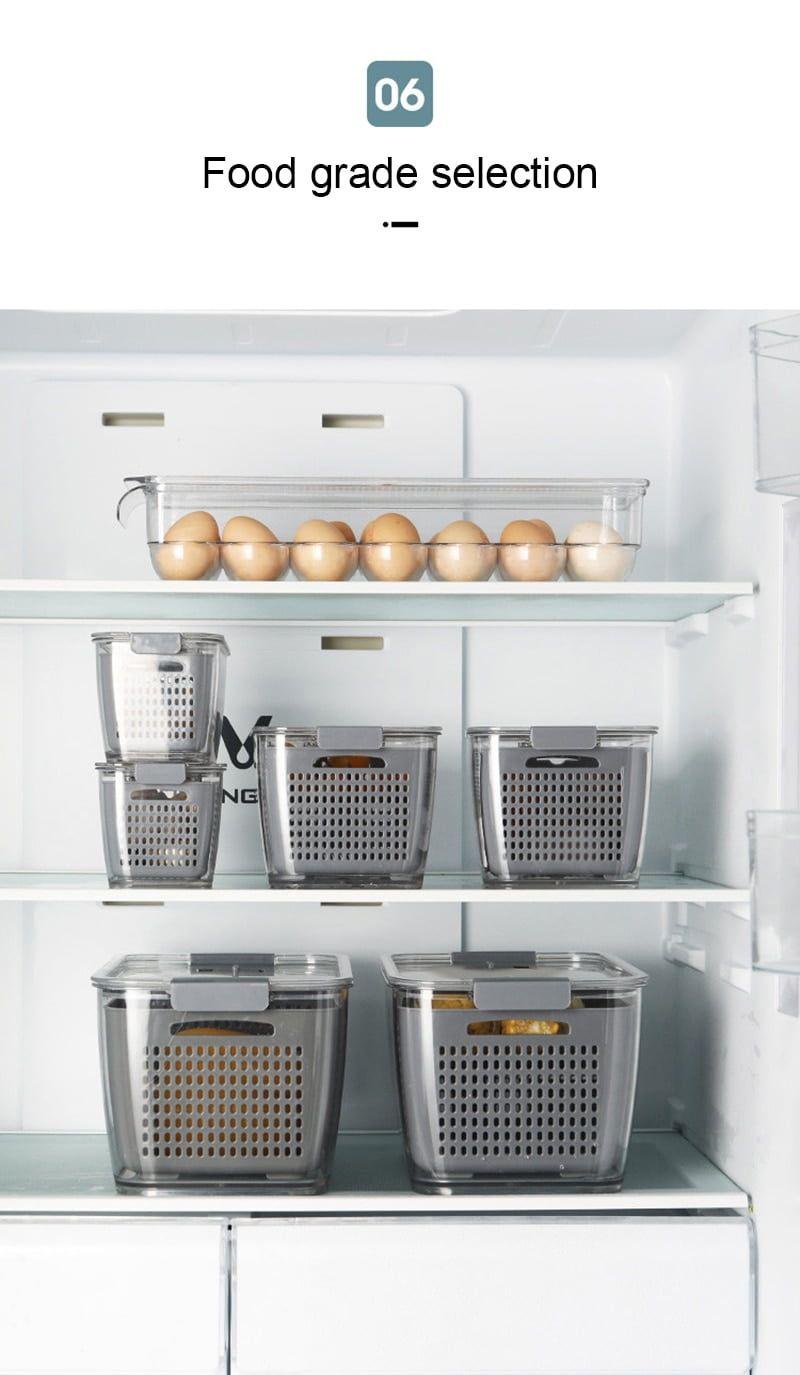 arcadia.zone Fresh Produce Vegetable Fruit Storage Containers